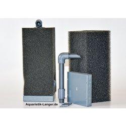 Mobiler HMF-Filter 15x15x66 schwarz Aquariumfilter günstig kaufen Aquaristik-Langer