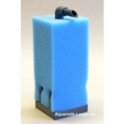 Mobiler HMF-Filter 15x15x66 blau Aquariumfilter günstig kaufen Aquaristik-Langer