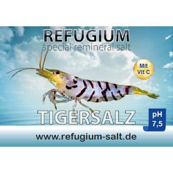 Refugium Spezial ReMineral Tigersalz pH 7,5 250 gr...