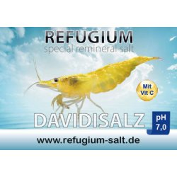 AT REFUGIUM Spezial ReMineral Davidisalz - pH 7,0, 250 gr.