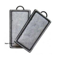 Aktivkohle Ersatzpad für Außenfilter Blau FM-120...