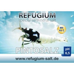 AT REFUGIUM Spezial ReMineral Pintosalz pH 6,5, 250 gr. günstig kaufen Aquaristik-Langer
