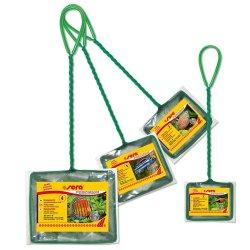 sera Fangnetz Kescher Nr. 4  20 cm grob grün günstig...