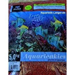 Aquarienkies rot Bodengrund Aquarium günstig kaufen Aquaristik-Langer