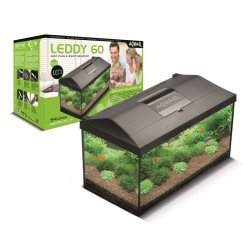 Aquarium-Set AquaEl Leddy 40, 25 Liter weiss