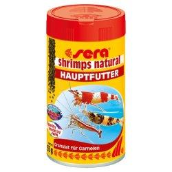 sera shrimps natural 100 ml Granulat für Garnelen günstig kaufen Aquaristik-Langer