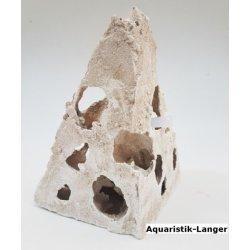Sandstein Lochstein Dekosteine Ecke groß