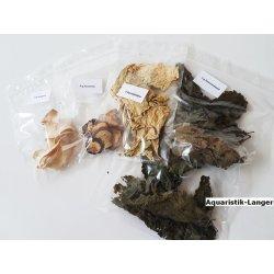 Gemüse-Mix 4 Leckereien für Garnelen Krebse Schnecken günstig kaufen Aquaristik-Langer