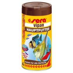 sera vipan Flockenfutter für Zierfische 250 ml Aquaristik-Langer