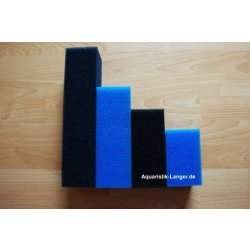 Filterpatrone Filterschwamm Ersatzfilter 15 x 15 x 52 cm blau günstig kaufen Aquaristik-Langer
