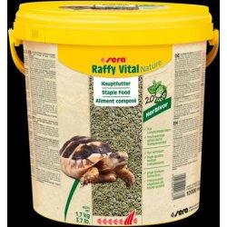 Hauptfutter für Schildkröten sera Raffy Vital Nature 10 Liter