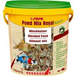 sera pond mix royal Teichfutter Fischfutter 10 Liter...