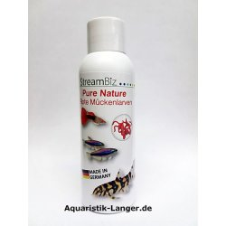 Pure Nature Rote Mückenlarven frische Futtertiere günstig...