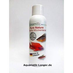 Pure Nature Weiße Mückenlarven frische Futtertiere...