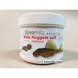 Welsfutter StreamBiz Wels nuggets soft herbivor 90 g kaufen