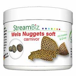 Welsfutter StreamBiz Wels nuggets soft carnivor 90 g kaufen