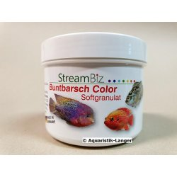 Buntbarschfutter Streambiz Buntbarsch Color Softgranulat...