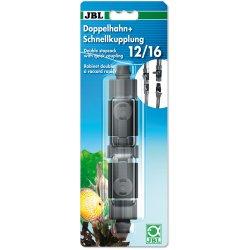 JBL Doppelhahn + Schnellkupplung 12/16