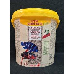 sera Cichlid Red XL Nature, 10 Liter