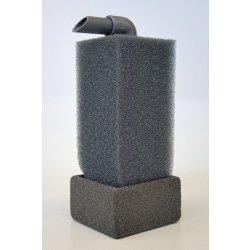 Mobiler HMF-Filter 10x10x56 schwarz Luftheberfilter für Aquarium günstig kaufen Aquaristik-Langer