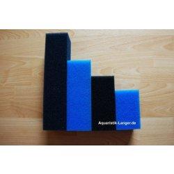 Filterpatrone 7,5x7,5x12 cm blau für HMF-Innenfilter...