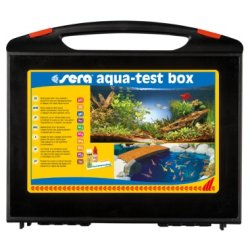sera aqua-test box Aquarum Teich professioneller...