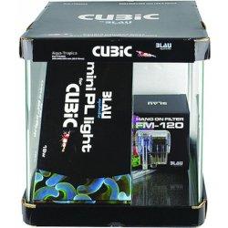 Nano-Aquarium Blau Cubic 30 Starterset günstig kaufen Aquaristik-Langer