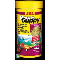 JBL NovoGuppy für Lebendgebährende Fischfutter für Guppys 250 ml Aquaristik-Langer
