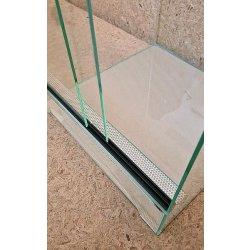 Terrarium mit Schiebetür, 40x40x60