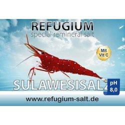 AT REFUGIUM Spezial ReMineral Sulawesisalz pH 8,0, 250 gr.